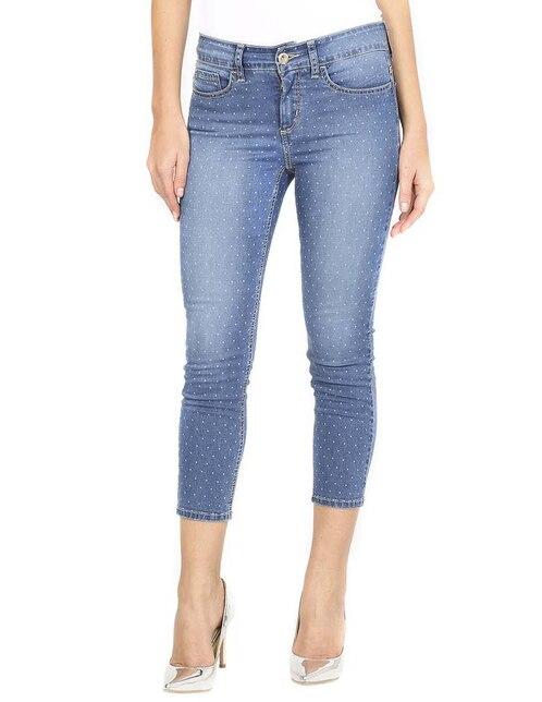 2e1c550049 Jeans Why Me corte skinny azul