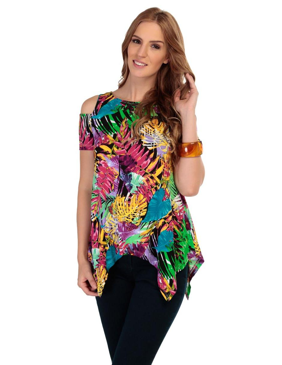 Blusa con diseño gráfico LIEB eb901d0afb05e